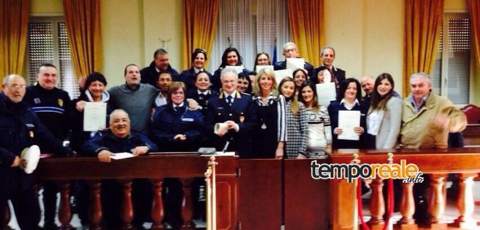 """Polizia Locale Gaeta, concluso il corso formativo """"Teoria e Tecnica della Comunicazione"""""""
