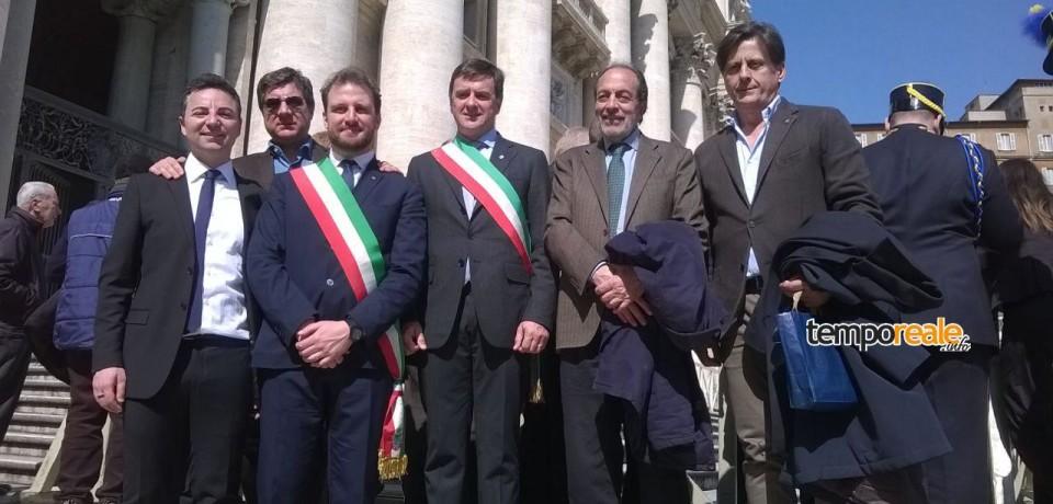 Cassino/ Papa Francesco benedice la Fiaccola