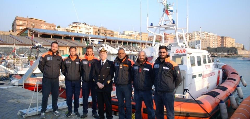 Guardia Costiera, rientrata la motovedetta CP 305 da Lampedusa