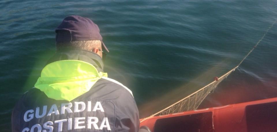 Formia / Sequestrati due chilometri di rete da pesca nel Parco Riviera di Ulisse