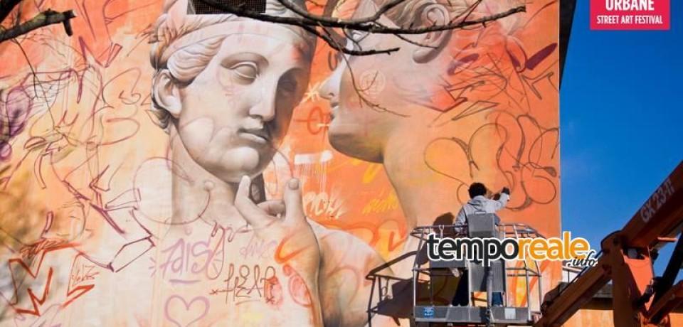 Fondi / Memorie Urbane 2015: con le Tre Grazie in città un capovaloro di Street Art