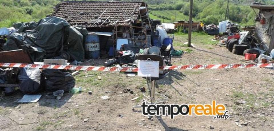 San'Andrea del Garigliano/ Sequestrato un deposito di rifiuti speciali
