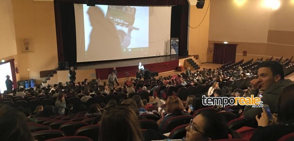"Cassino / Successo per il meeting ""Cinema&Storia"". Ospite Elio Germano"