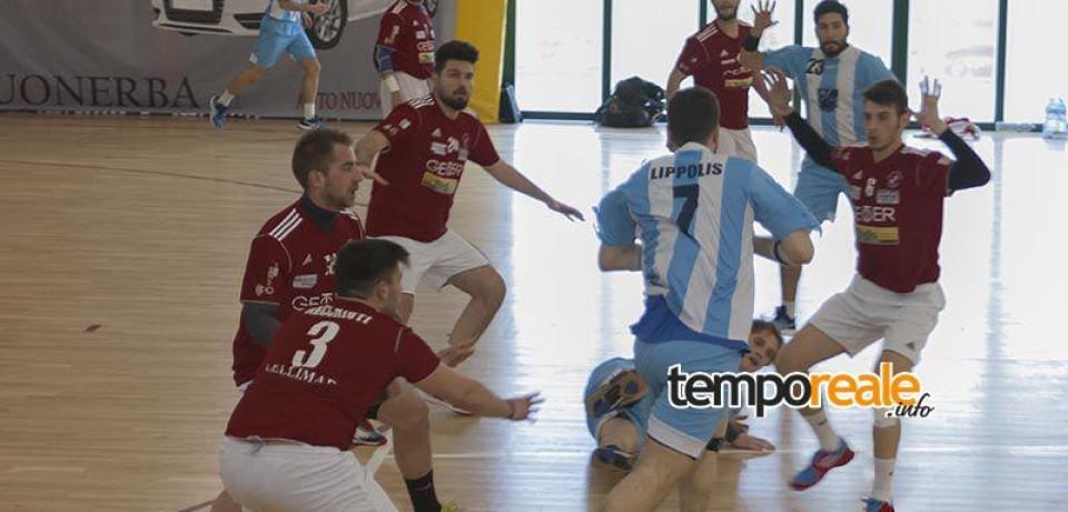 Pallamano / Finale coi fiocchi per la Geoter Gaeta che batte la Lazio per 30-28