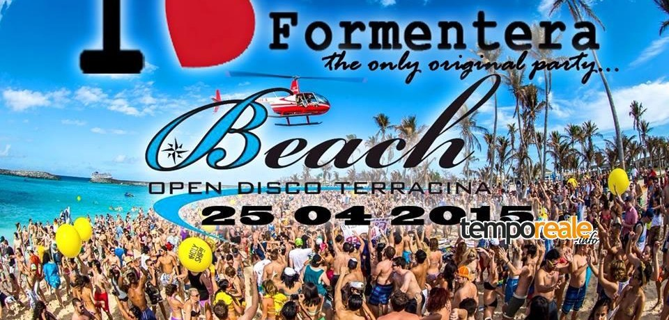 La crew del Sofia Club al Beach Open disco per un party in spiaggia