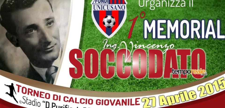 Fondi / Calcio giovanile, Memorial Vincenzo Soccodato con gli osservatori della Juventus