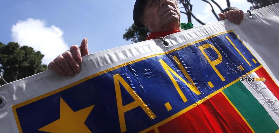 """Formia / """"Mai più fascismi"""", la manifestazione dell'Anpi in Piazza di Vittoria"""