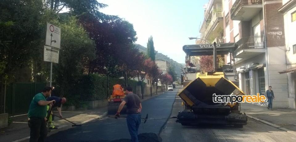 Cassino / Rifacimento strade, terminati i lavori in Via Abruzzi, Via San Pasquale e Viale Europa
