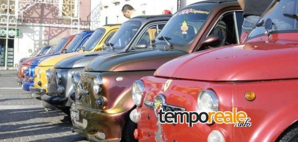 Cassino si prepara al 4° raduno di auto d'epoca organizzato dal Club Nazionale Fiat 600