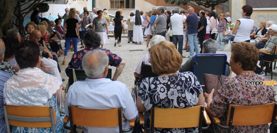 Terracina/ Primavera in libertà presso la casa di riposo Salvini