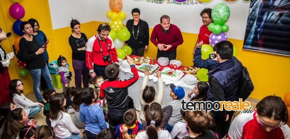 Gaeta/ Tanta allegria e una folla di bambini al terzo compleanno della Ludoteca Comunale