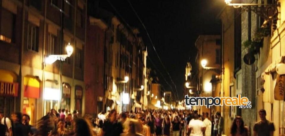 Formia / Movida, modificata l'ordinanza del 2003. Musica in centro consentita fino alle ore 02:00