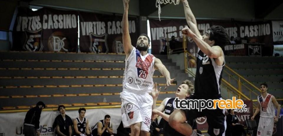 Basket / Palestrina e poi sarà playoff per la BPC Virtus Cassino
