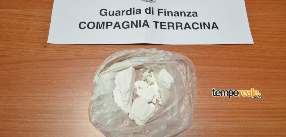 Terracina / Arrestato consulente finanziario di Pontinia per possesso di cocaina