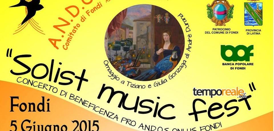 Fondi / L'A.N.D.O.S. onlus presenta il nuovo concerto benefico per la prevenzione del tumore al seno