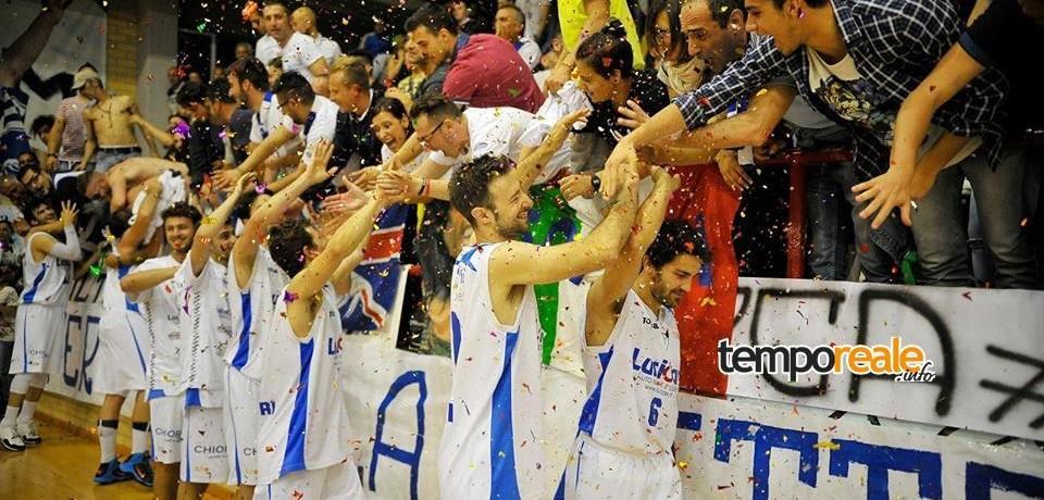 Basket Scauri, ok all'iscrizione: prosegue l'avventura in Serie B