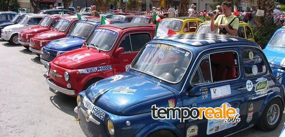 """Gaeta / In arrivo il """"500 Day"""", il grande raduno di Fiat 500 tra passione e turismo"""