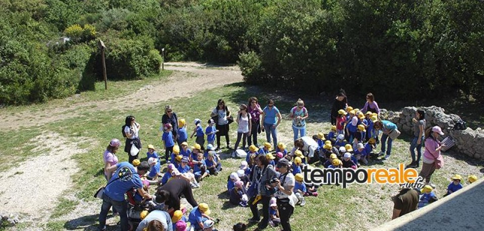 Formia / Guardiaparco in erba, enorme successo per l'educazione ambientale per i bambini