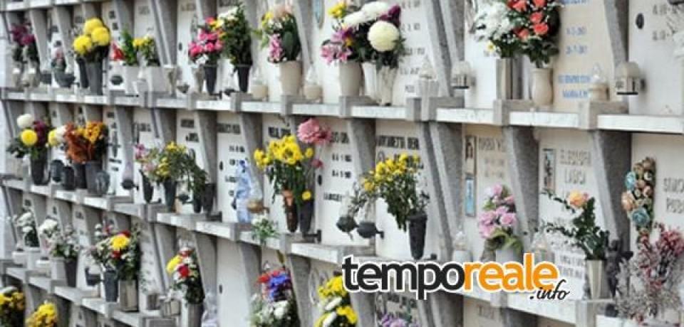 Cassino / Cimitero di San Bartolomeo, dal 7 marzo sarà possibile fare domanda per l'acquisto dei nuovi loculi
