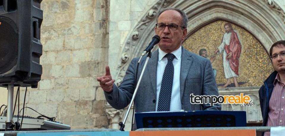 Fondi / Mario Fiorillo chiude la campagna elettorale insieme al vicepresidente del Senato Valeria Fedeli