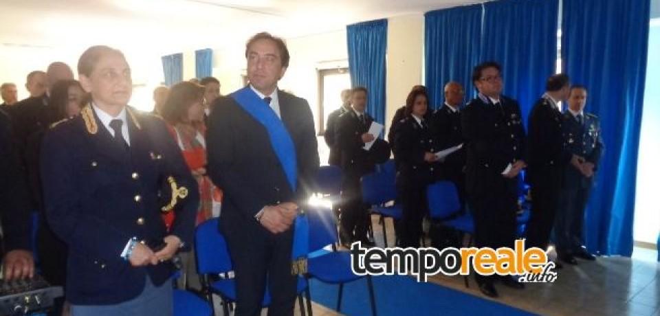 Frosinone / Andrea Amata alla cerimonia per il 198° anniversario della Polizia Penitenziaria