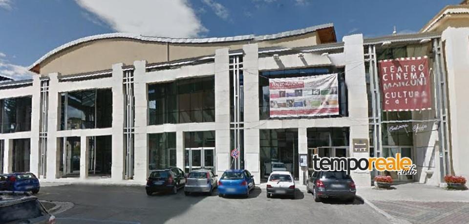 Cassino / Teatro Manzoni, iniziati i lavori per il rifacimento del tetto