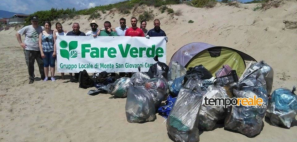 """Fondi/ """"Let's Clean Up Europe Day"""", giornata di raccolta dei rifiuti abbandonati"""