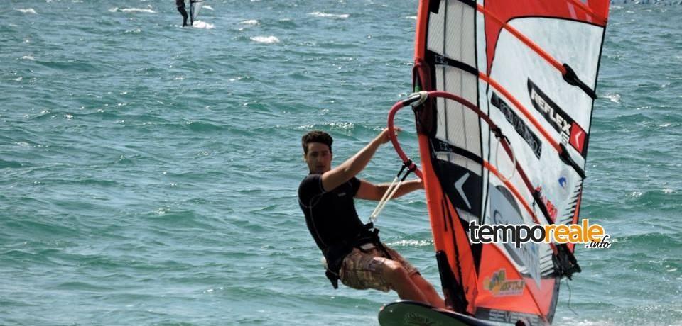 Windsurf / Slalom, niente vento per Gianmarco Meschino, prossimo appuntamento a Vindicio