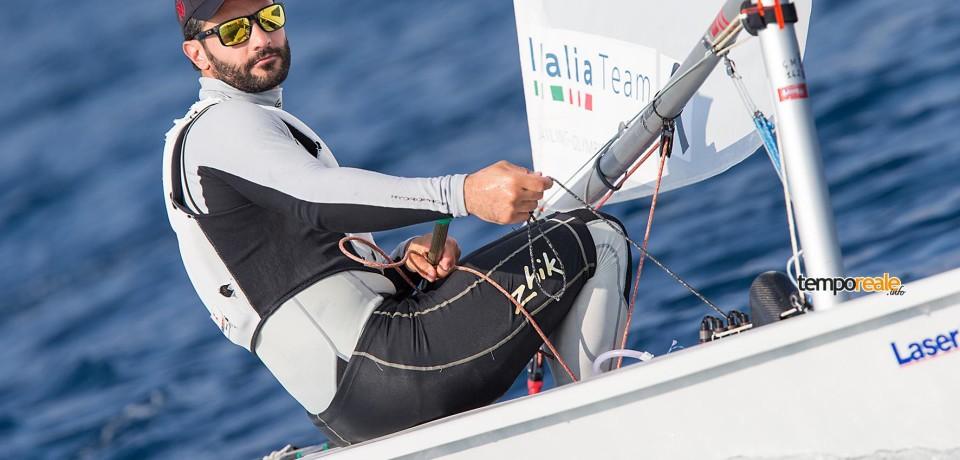 Vela / Medaglia di bronzo nei Laser Standard a Marco Gallo delle Fiamme Gialle di Gaeta