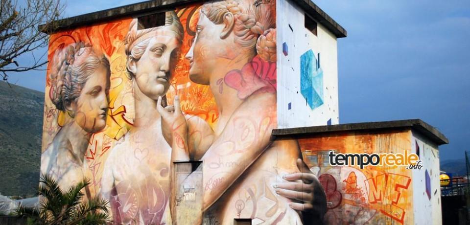 """""""Memorie Urbane"""", l'arte dei graffiti colorerà anche Santi Cosma e Damiano"""