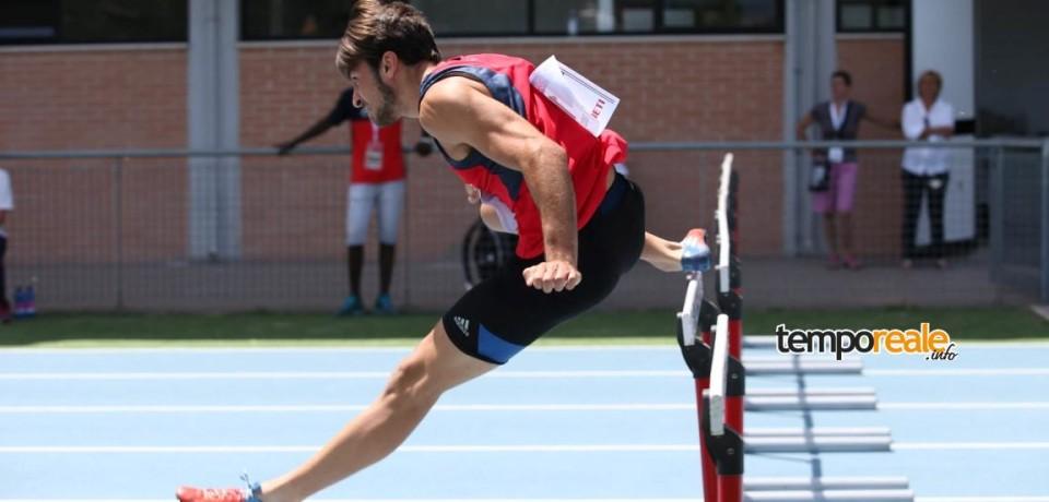 Atletica / Il formiano Simone Poccia guadagna la medaglia d'argento nella corsa a ostacoli