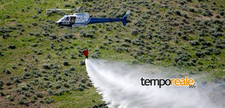 Fondi / Il Sindaco De Meo emette ordinanza di massimo rischio incendio boschivo