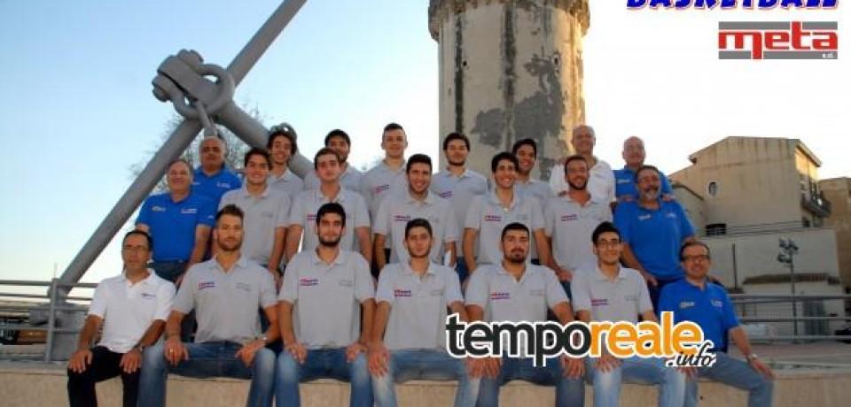 Basket / Il Formia Basketball sigla la partnership con l'azienda Meta Srl anche per la prossima stagione