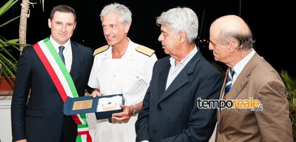 Gaeta / Follaro d'Oro, premiata la Direzione Marittima del Lazio