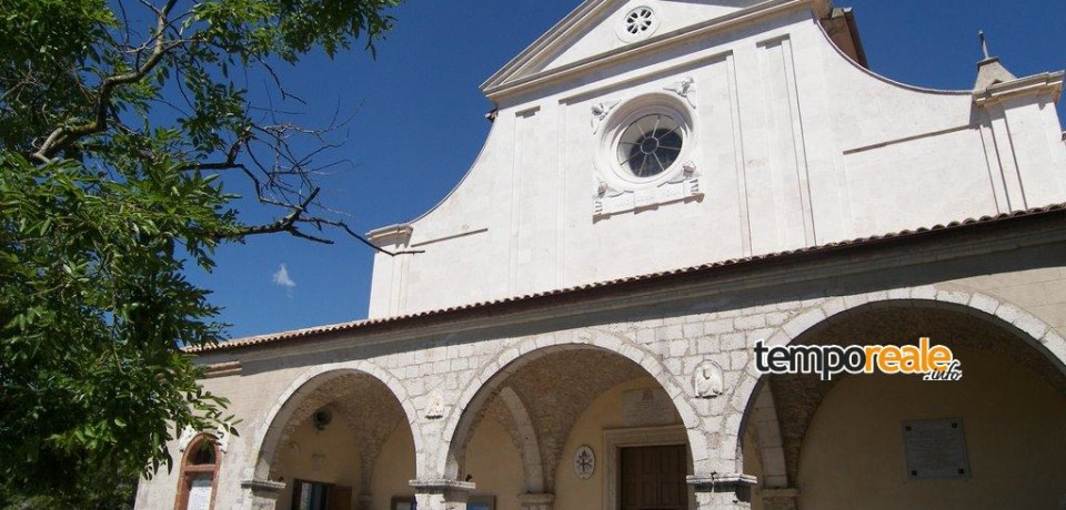 Itri / Prima visita dell'arcivescovo mons. Luigi Vari al Santuario della Civita