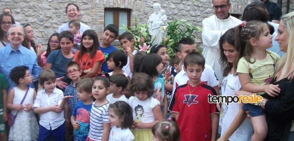 Itri / Inaugurata la statua di San Giuseppe