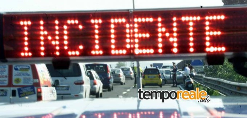 Incidente sulla A1 ad Anagni, muore una 45enne di Formia