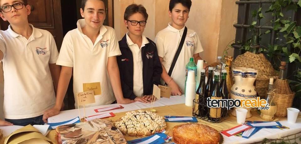 Fondi / EXPO 2015, alimentazione e Torpedino: gli studenti della Garibaldi a lezione di prodotti locali