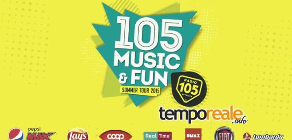 Radio 105 Music & Fun si ferma anche a Formia con eventi e tanta musica