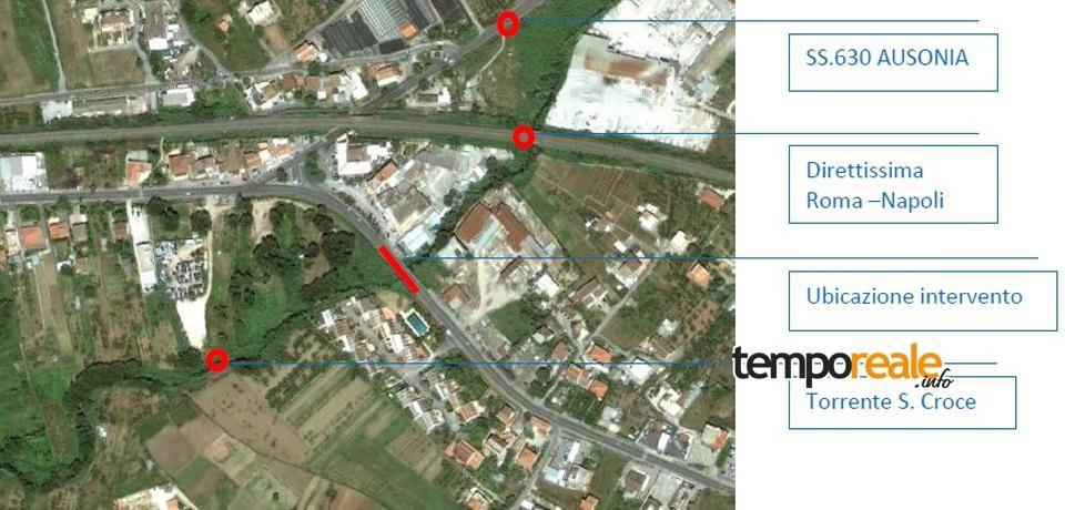 Formia / Sicurezza stradale, dalla Provincia una passerella pedonale a Santa Croce