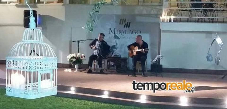 Sperlonga / Musica, spettacolo e cucina d'autore al Miralago