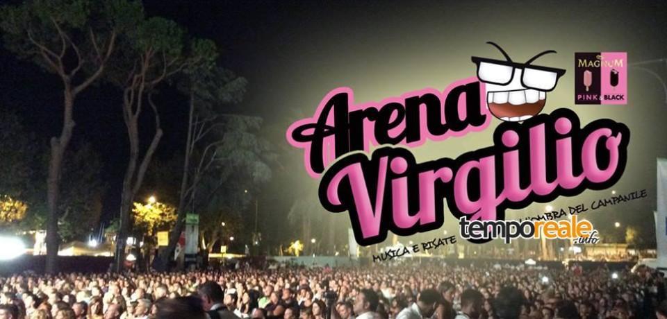 Gaeta / Musica, spettacolo e comicità all'Arena Virgilio 2015