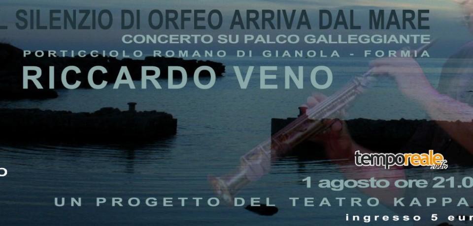 """Formia / Concerto galleggiante al Porticciolo Romano di Gianola con """"Il silenzio di Orfeo arriva dal mare"""""""