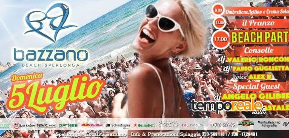 Sperlonga/ A Bazzano Beach arriva 'Port do Sol'