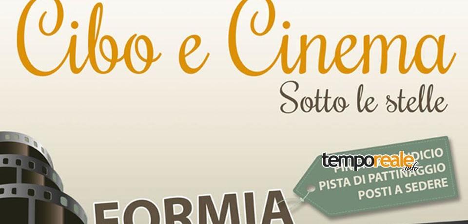 Formia / Cibo e Cinema, tutti i venerdì di agosto film, degustazioni e dibattiti sul mangiare bene