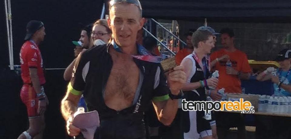 Sperlonga/ Per il secondo anno Paolo Lancerin è Ironman 2015