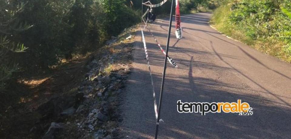 Lenola-Passignano: la strada è troppo pericolosa, residenti e automobilisti protestano