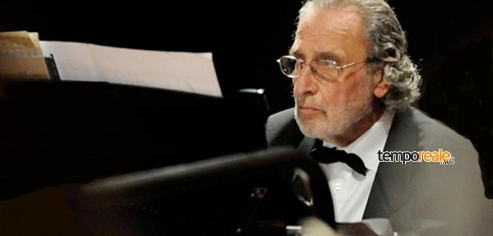 """Gaeta / """"Pianoforti dai Due Mondi"""": in concerto Luis Bacalov, Marco Ciampi e Alberto Pizzo"""