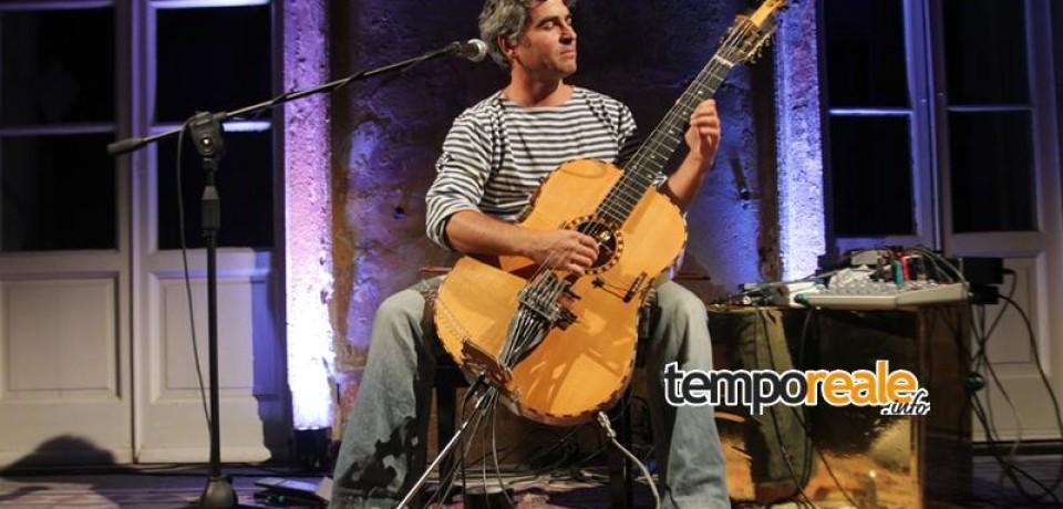 JazzFlirt Festival 2015, il secondo concerto dell'XI edizione a Scauri con la musica di Paolo Angeli