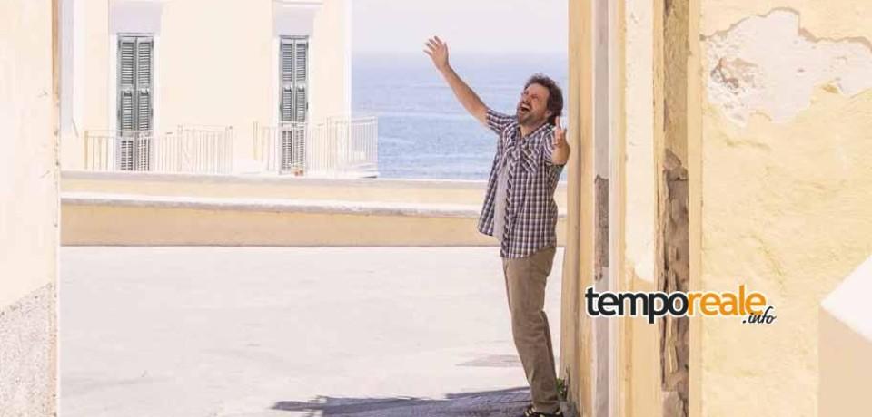 """Ventotene / Si concludono le riprese de """"Il Professor Cenerentolo"""" di Leonardo Pieraccioni, prossimo set a Gaeta"""